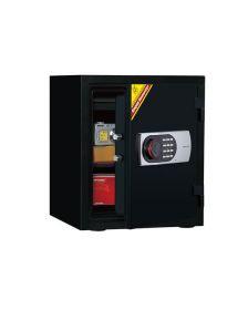 ცეცხლგამძლე სეიფი ელექტრონული საკეტით Di-125EN(RAL7021), Di-901381