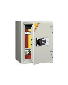 ცეცხლგამძლე სეიფი ელექტრონული საკეტით Di-530EN(RAL9002), Di-901382