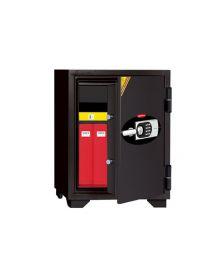 ცეცხლგამძლე სეიფი ელექტრონული საკეტით და გასაღებით Di-060EHK(RAL7021), Di-901387