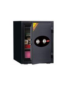 ცეცხლგამძლე სეიფი ორმაგი გასაღებით Di-530DK(RAL7021), Di-901385
