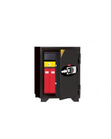 ცეცხლგამძლე სეიფი ელექტრონული საკეტით და გასაღებით Di-080EHK77(RAL7021), Di-900969