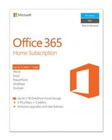 ლიცენზირებული Microsoft Office 365 Home 32/64