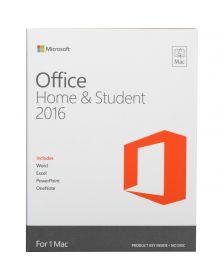 ლიცენზირებული Microsoft Office Mac Home and Student 2016