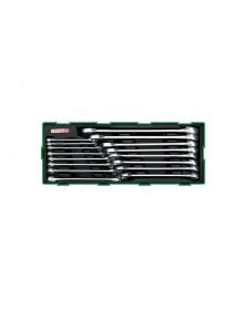 კომბინირებული ქანჩის გასაღების ნაკრები TOPTUL GTA1607(GTA16070)