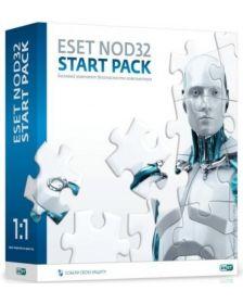 ლიცენზირებული ანტივირუსი ESET NOD32 START PACK
