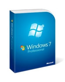 ლიცენზირებული Windows 7 Professional English Intl non-EU/EFTA DVD