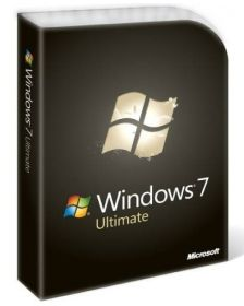 ლიცენზირებული Windows 7 Ultimate English Intl non-EU/EFTA DVD