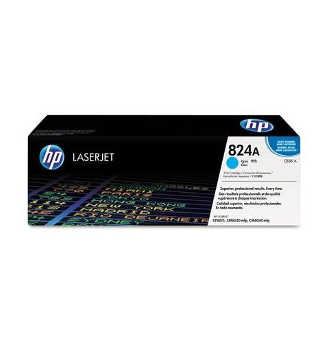 კარტრიჯები HP 824A Cyan Original LaserJet Toner Cartridge