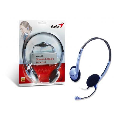 ყურსასმენი მიკროფონით-Genius HS-02B