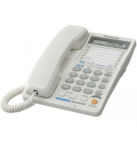 ტელეფონი სადენიანი Panasonic KX-TS2368RUW