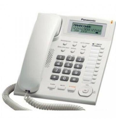 სადენიანი ტელეფონი Panasonic KX-TS2388UAW