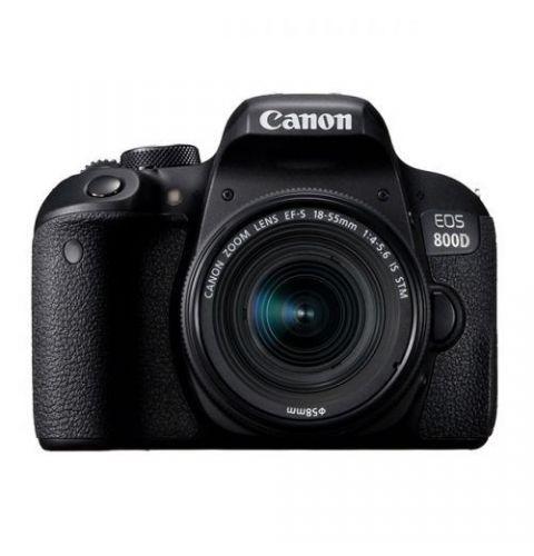 ფოტოაპარატი Canon EOS 800D 18-55 IS STM KIT