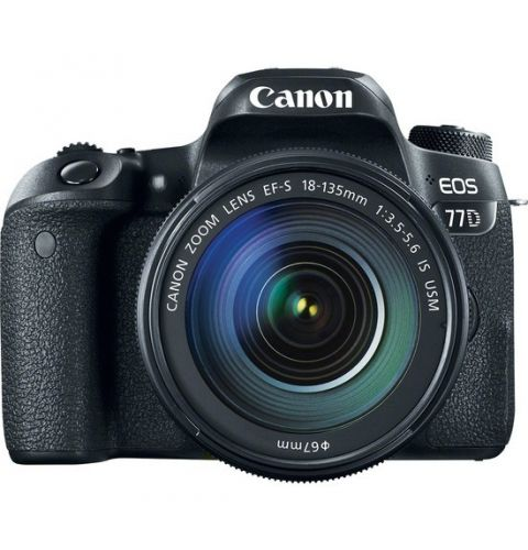სარკული ფოტოაპარატი Canon EOS 77D with 18-135mm USM Lens