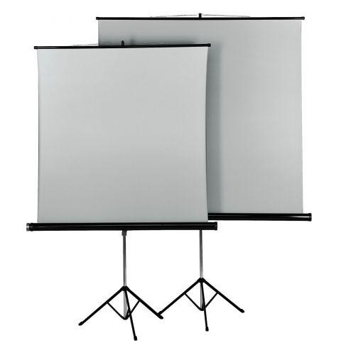პროექტორის ეკრანი Hama canvas with tripod, 155 x 155 cm, duo
