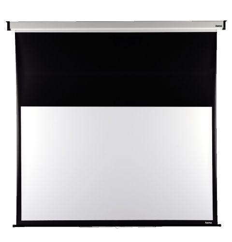 პროექტორის ეკრანი Hama Roller Projection Screen, 200 x 150 cm, 16:9