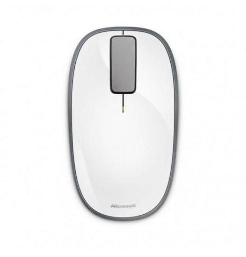 მაუსი Microsoft Wireless Explorer Touch Mouse (U5K-00039) White
