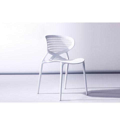 ბარის სკამი DLF-BC-01, DLF-902272 თეთრი