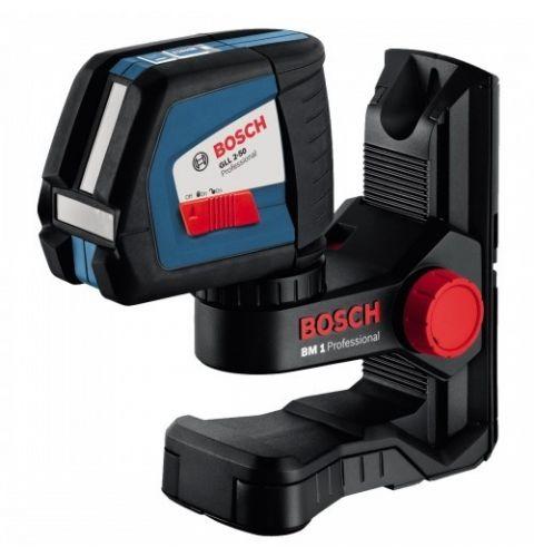 ლაზერული საზომი Bosch GLL 2-50 + BM1 NEW