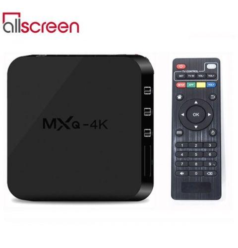 სმარტ ბოქსი Allscreen Android Tv Box smart tv MXQ-4K