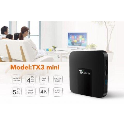 სმარტ ბოქსი Allscreen Android Tv Box smart tv TX3-MINI-1G-8G4