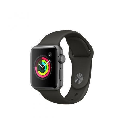სმარტ საათი Apple Watch Series 3 GPS 42mm Space Gray Aluminium Case with Gray Band (MR362GK/A)