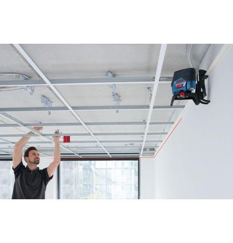 ლაზერული ნიველირი Bosch GCL 2-50 C+RM3 (12 V), BM 3 clip, RC 2, L-Boxx