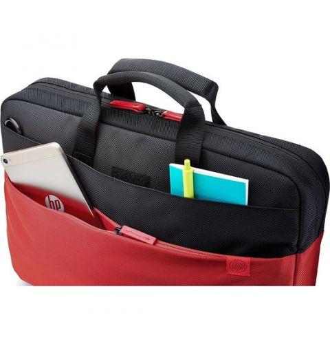 ნოუთბუქის ჩანთა HP 39.62 cm (15.6``) Duotone Red BriefCase (Y4T18AA)
