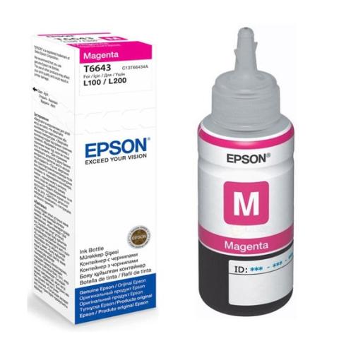 კარტრიჯის მელანი–Epson L100/L200 Magenta ink bottle 70ml