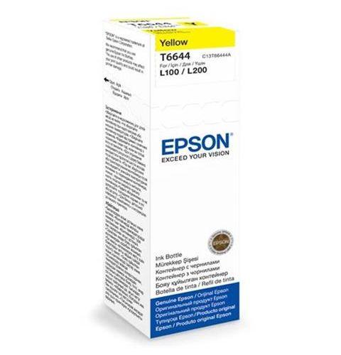 კარტრიჯის მელანი Epson L100/L200 Yellow ink bottle 70ml