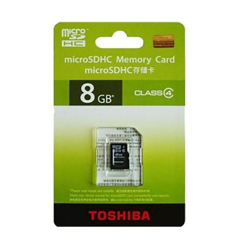 მეხსიერების ბარათი TOSHIBA  microSD 8 GB THN-M102K0080M2