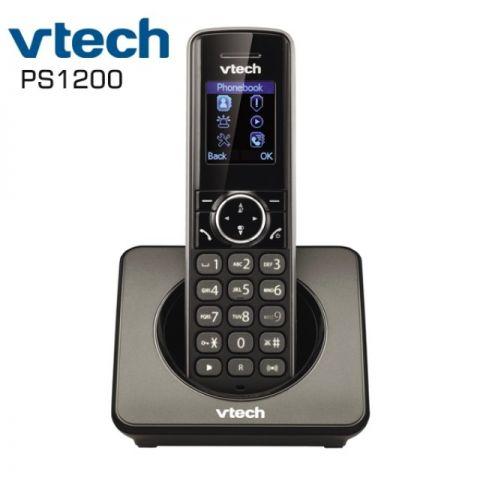 ტელეფონი უსადენო VTech PS1200 DECT 6.0 Answering System and Caller ID Black