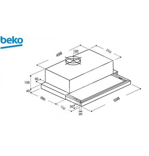 გამწოვი BEKO  CTB 6407 X