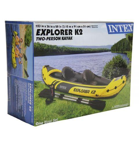 """ნავი  """" Explorer K2 """"  intex   68307"""