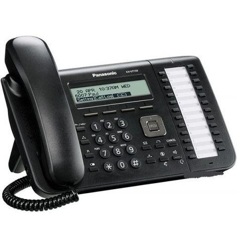 IP ტელეფონი PANASONIC  KX-UT133RU-B