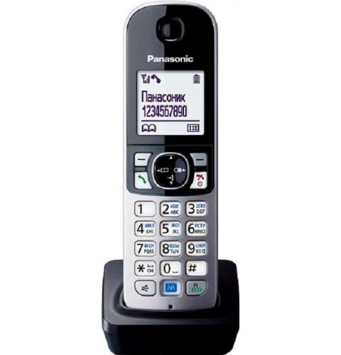 რადიო ტელეფონის დამატებითი ყურმილი Panasonic KX-TGA681RUB