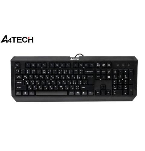 კლავიატურა A4Tech K-100, Gaming, US+Russian