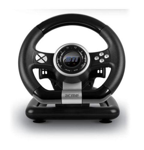 სათამაშო საჭე ACME STi racing wheel