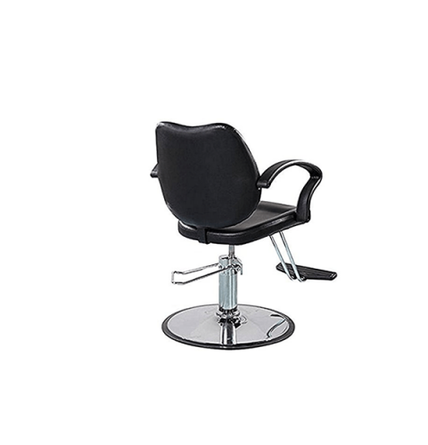 სალონის სკამი ტყავის ზედაპირით შავი, UT-C033, UT-911516