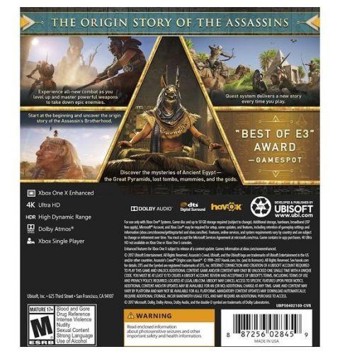 თამაში Assasin's Creed : Origins