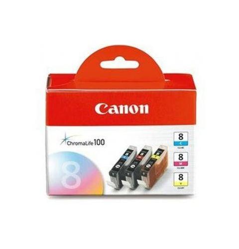 კარტრიჯი კარტრიჯი Canon CLI-8 Inkjet Cartridge Multi Pack CMY 0621B029AA