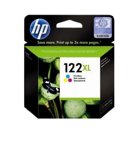 კარტრიჯი HP 122XL High Yield Tri-color Original Ink Cartridge