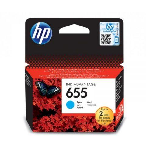 კარტრიჯი HP 655 Cyan Original Ink Advantage Cartridge