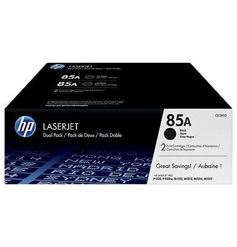 კარტრიჯი HP 85A Black Dual Pack LaserJet Toner Cartridges