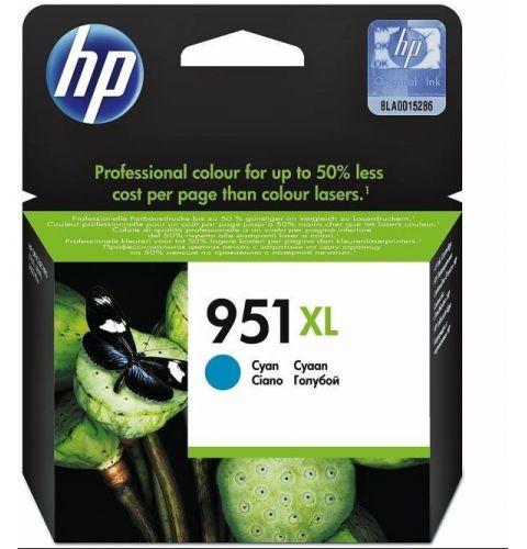 კარტრიჯი HP 951XL, Cyan Ink Cartridge (High Yield)