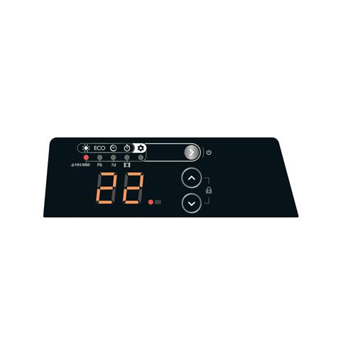 003030 ელექტრო კონვექტორი ATLANTIC F125 DESIGN 2500W PLUG