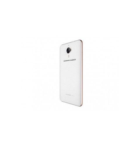 მობილური ტელეფონი General Mobile 5 Plus Dual Sim LTE (4.5G) White/Gold