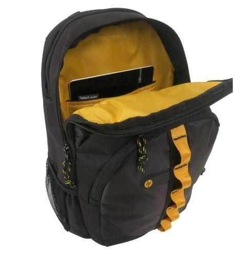 ნოუთბუქის ჩანთა HP 15.6 Sport Backpack (Black/Yellow)