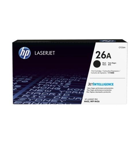 კარტრიჯი HP 26A Black Original LaserJet Toner Cartridge