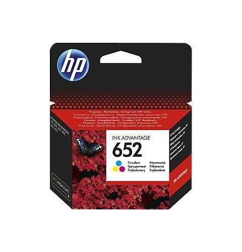 კარტრიჯი HP 652 Tri-color Original Ink Advantage Cartridge