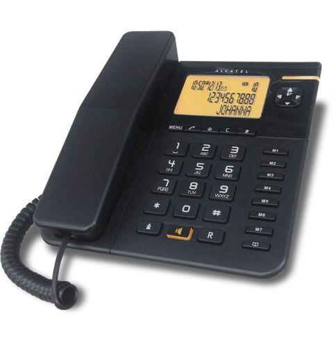 სტაციონარული ტელეფონი ALCATEL Temporis 75-Black